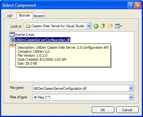 Distributing ASP NET 2 0 Applications with UltiDev Cassini